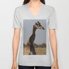 Giraffe 4 Unisex V-Neck