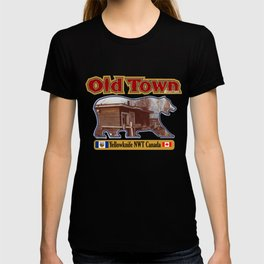 Old Town Yellowknife NWT T-shirt