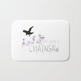 Chainsaw - TRC Bath Mat