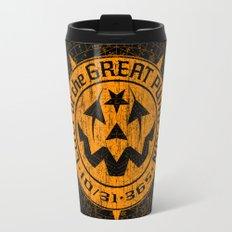 Cult of the Great Pumpkin: Alchemy Logo Travel Mug