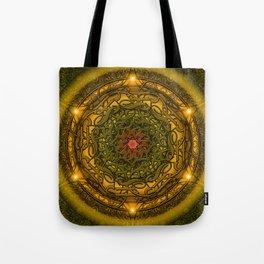 Happiness Mandala Tote Bag
