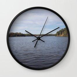 River Ways Wall Clock