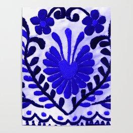 Strange Love Blue Poster