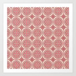 Traditional Chinese Pattern Art Print