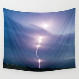 Lightening Wall Tapestry