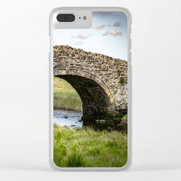 Eighteenth Century Bridge on Isle of Anglesey Clear iPhone Case