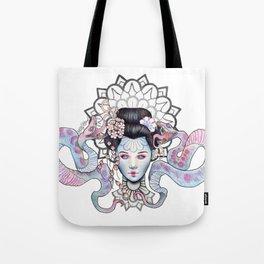 Space Goddess Tote Bag