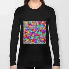 Bunch Of Triangles Long Sleeve T-shirt