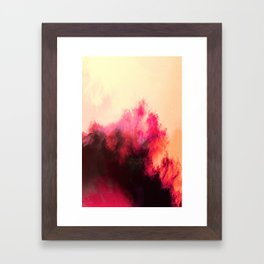 Painted Clouds II Framed Art Print