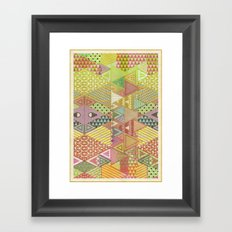 A FARCE / PATTERN SERIES 003 Framed Art Print