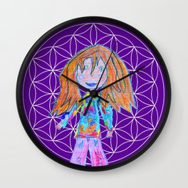 Elisavet | Flower of Life Wall Clock