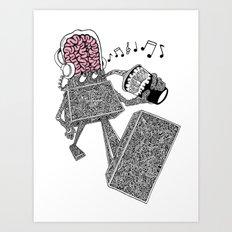 Just chillin Art Print