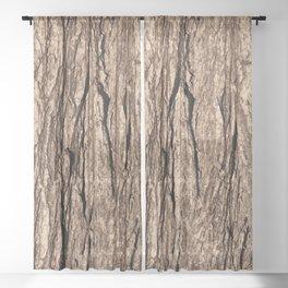 Tree Bark Sheer Curtain