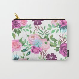 pnk flowers Carry-All Pouch