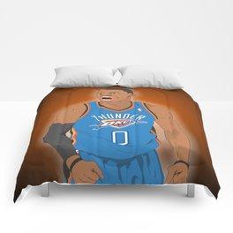 Oklahoma Thunder - Russell Westbrook Comforters