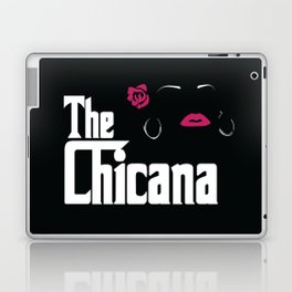 The Chicana (Godfather) Laptop & iPad Skin