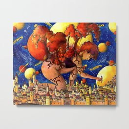 World builder Metal Print