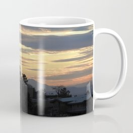 Albuquerque Sunset Silhouette Coffee Mug