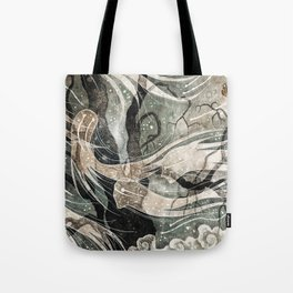 Do not draw their attention Tote Bag