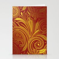fancy Stationery Cards featuring Fancy by Ale Ibanez