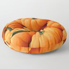 Autumn Pumpkins Floor Pillow