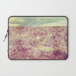 Rain Dance Desert Mandala Laptop Sleeve