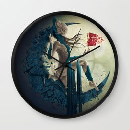 Iconoclasm Wall Clock