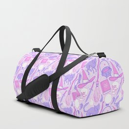 Witch Supplies in Pastel Duffle Bag