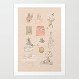 Brooklyn Pieces 1 Art Print