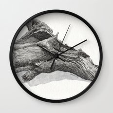 Fallen Tree Wall Clock