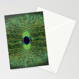 Peacock Wheel Stationery Cards