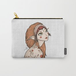 Boho Nymph Twin Carry-All Pouch