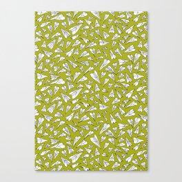 Plane paper. Canvas Print