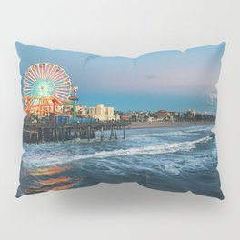 Wheel of Fortune - Santa Monica, California Pillow Sham