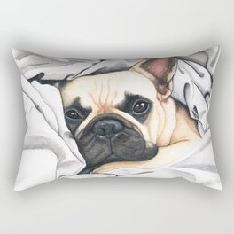 French Bulldog - F.I.P. - Miuda Frenchie Rectangular Pillow