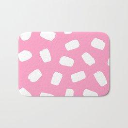 Candyfloss Brushstrokes Bath Mat