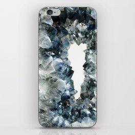 Crystal Photography   Sapphire   Gem   Stone   Geometry iPhone Skin