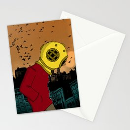 City Diving Stationery Cards