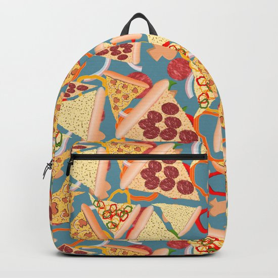 Pizza Pattern No. 1 Backpack