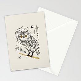 Hypno Owl Stationery Cards