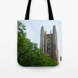 Trees and Tower Tote Bag