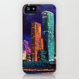 Expression Houston iPhone Case