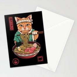 Neko Ramen Stationery Cards
