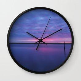 Colorful Sunrise Wall Clock