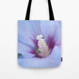 Soft Purple Hibiscus Flower #1 #art #society6 Tote Bag