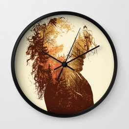 Polish Girl Wall Clock