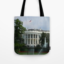 South Portico of the White House Washington DC Tote Bag