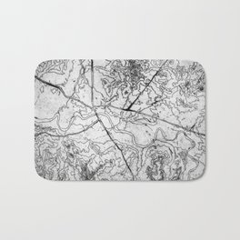 Mapping it out Bath Mat