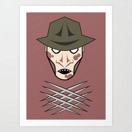 Freddy Head Art Print