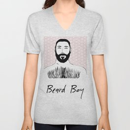 Beard Boy: Emilio Unisex V-Neck